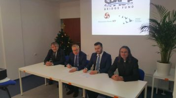 Signing a tripartite memorandum of cooperation and understanding with the Polish Mazovia Cluster ICT and the Space Bridge Fund.
