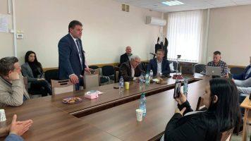 Перший заступник голови правління ДІФКУ Сергій Шкураков взяв участь у робочій зустрічі